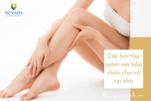 TOP các bài tập giảm béo bắp chân cho nữ tại nhà | Bí mật sau body sao Kpop