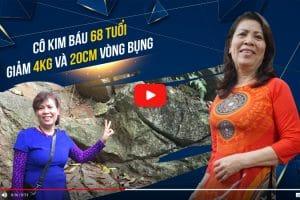 Giảm 4kg và 20 cm vòng bụng ở tuổi 68 – Kết quả phi thường đã giúp cô Kim Báu lấy lại được sức khỏe tuổi trung niên
