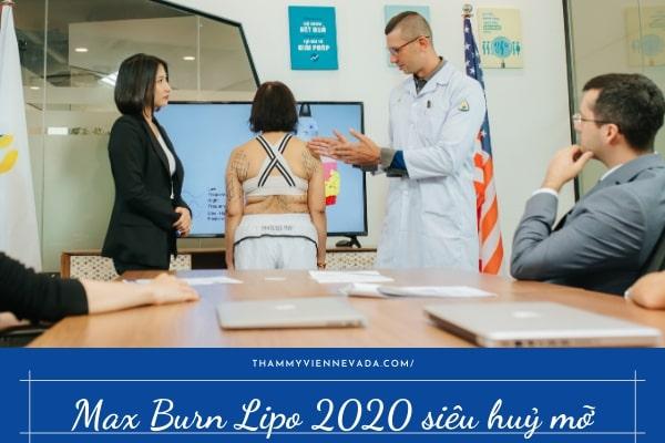 Review công nghệ giảm béo Max Burn Lipo - Thẩm mỹ viện Quốc tế Nevada