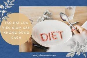 Bàng hoàng trước những tác hại của việc giảm cân không đúng cách