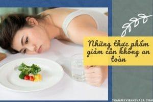 Hoảng hồn với những thực phẩm giảm cân không an toàn trong chính căn bếp của bạn