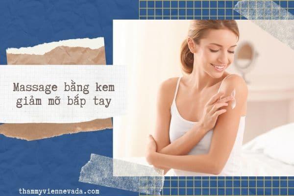 cách massage giảm mỡ bắp tay, massage giảm mỡ bắp tay, massage tan mỡ bắp tay
