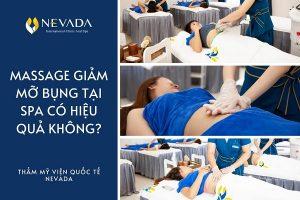 Massage giảm mỡ bụng tại spa có hiệu quả không? Và câu trả lời là…?