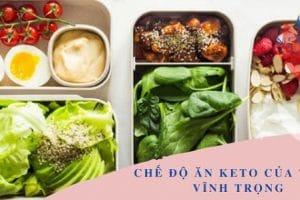 Phương pháp giảm cân Keto bài 19 của thầy Viễn Trọng – Chế độ ăn tiêu chuẩn trong 1 tuần