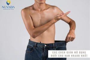 TOP cách giảm mỡ bụng dưới cho nam tại nhà dựa trên nghiên cứu khoa học