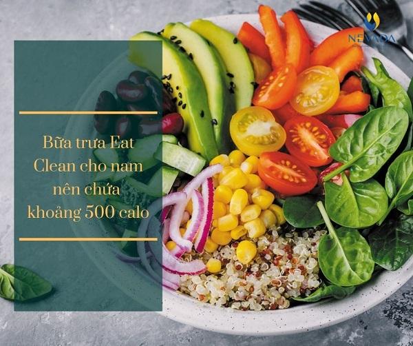 eat clean cho nam, thực đơn eat clean cho nam