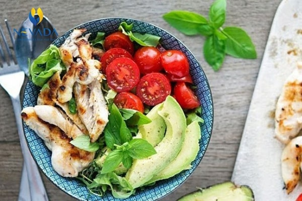 thực đơn low carb cho nam, thực đơn giảm cân low carb cho nam, chế độ ăn low carb cho nam