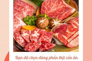 Bạn đã chọn đúng phần thịt cần ăn để giảm cân?