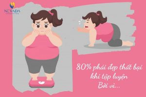 Lý giải dành cho việc giảm cân bằng bài tập 80% phái đẹp không thể thành công: Bao giờ cho đến ngày mai?