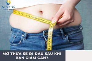 Bạn đã biết mỡ thừa sẽ đi đâu sau khi bạn giảm cân hay chưa?