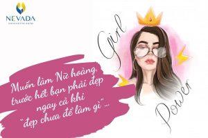 Muốn làm nữ hoàng, trước hết bạn phải đẹp ngay cả khi chưa để làm gì…
