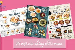 Bí mật của những chiếc menu có liên quan đến cân nặng của bạn