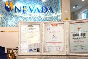 Thẩm mỹ viện Quốc tế Nevada – Hệ thống Medical Spa đạt được hàng trăm giải thưởng cao quý khắp châu lục