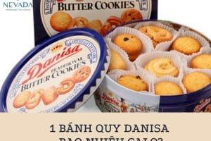 1 cái bánh quy Danisa bao nhiêu calo? Ăn bánh Dasina có béo không? Câu trả lời sẽ làm bạn bất ngờ