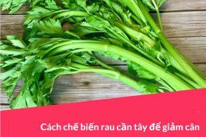 5 Cách chế biến rau cần tây để giảm cân hiệu quả 7 Kg 1 tuần [ Thẩm mỹ viện Nevada ]