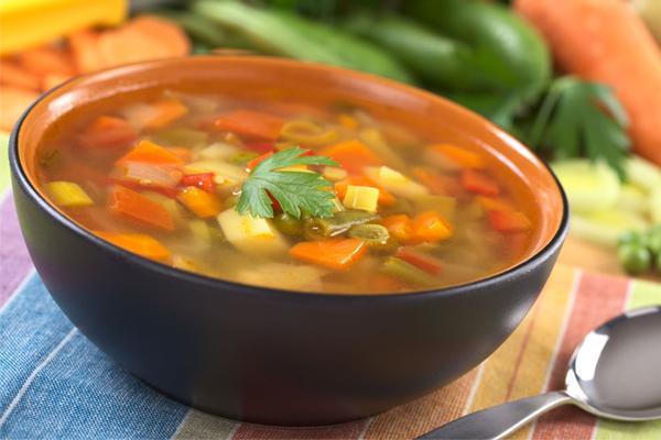 súp rau củ giảm cân