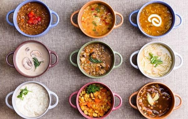 các món súp rau củ giảm cân