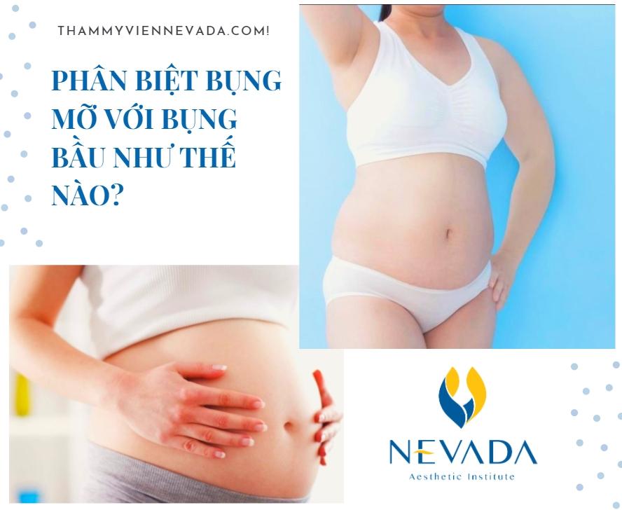 bụng mỡ khác bụng bầu như thế nào, bụng mỡ khác với bụng bầu, bụng mỡ to như bụng bầu, Cách giảm bụng mỡ tại nhà, bụng mỡ cứng hay mềm