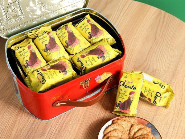 bánh goute bao nhiêu calo, 1 gói bánh goute bao nhiêu calo, calo trong bánh goute, bánh goute 36g bao nhiêu calo, ăn bánh goute có béo không, ăn bánh goute có mập không, Bánh Goute mè giòn tan bao nhiêu calo, 1 cái bánh Goute bao nhiêu calo