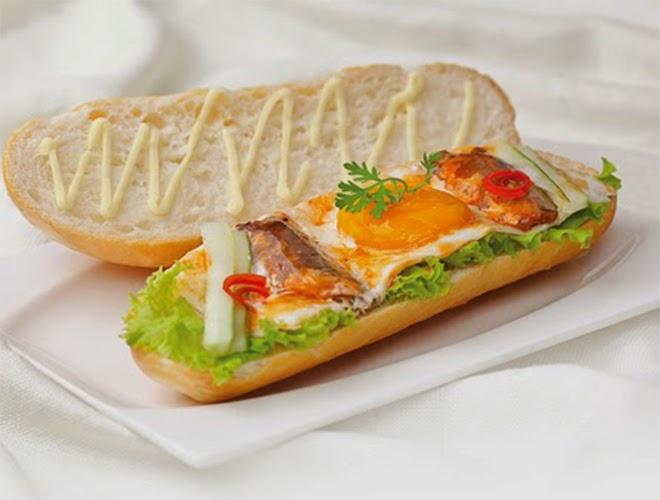 ăn bánh mì trứng có béo không, ăn bánh mì trứng có mập không, ăn sáng với bánh mì trứng có béo không, ăn bánh mì trứng ốp la có mập không