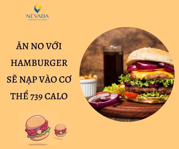 hamburger bao nhiêu calo, hamburger bò bao nhiêu calo, Vỏ bánh hamburger bao nhiêu calo, bánh mì hamburger bao nhiêu calo, ăn hamburger có béo không, ăn hamburger đúng cách, ăn hamburger có tốt không