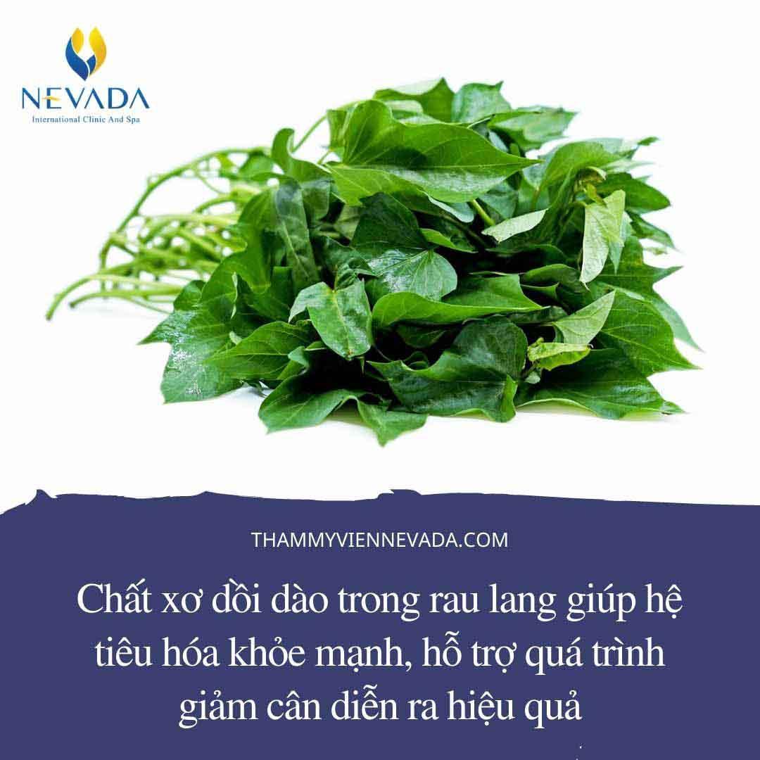 giảm cân bằng rau lang, giảm cân ăn rau lang, rau lang có giảm cân không, rau lang luộc giảm cân, giảm cân với rau lang