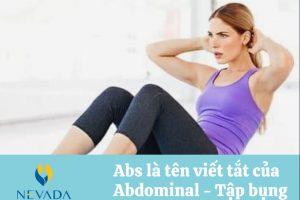 Tập ABS có giảm mỡ bụng không? Cách giảm mỡ bụng hiệu quả là gì?