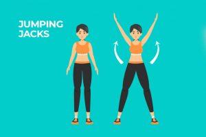 Mách bạn cách tập jumping jack giảm mỡ toàn thân trong thời gian siêu tốc