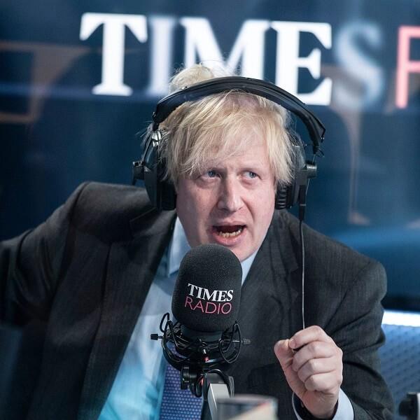 Boris Johnson giảm cân