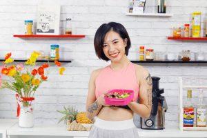 Khám phá thực đơn eat clean giảm cân Hana Giang Anh, có thể giảm 2-4kg trong 1 tháng