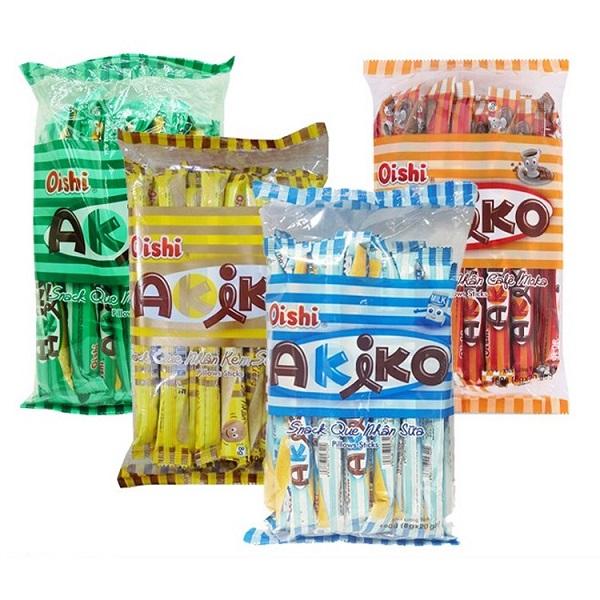 bánh akiko bao nhiêu calo, bánh akiko có bao nhiêu calo, calo trong bánh akiko, ăn bánh akiko có béo không