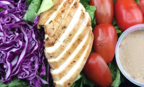 cách làm salad giảm cân với ức gà, salad giảm cân với ức gà, salad ức gà giảm cân, salad bơ ức gà giảm cân, salad ức gà cho người giảm cân