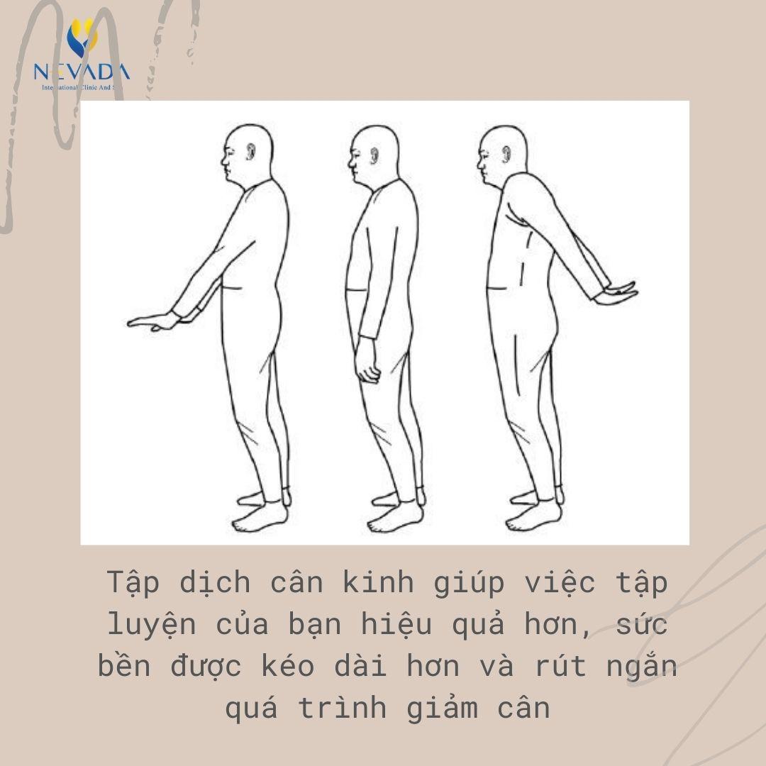tập dịch cân kinh giảm cân, tập dịch cân kinh có giảm cân không, tập dịch cân kinh có giảm mỡ bụng không, dich cân kinh