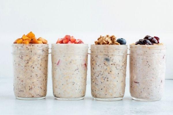 giảm cân với overnight oats, overnight oats giảm cân, giảm cân bằng overnight oats, cách giảm cân với overnight oats