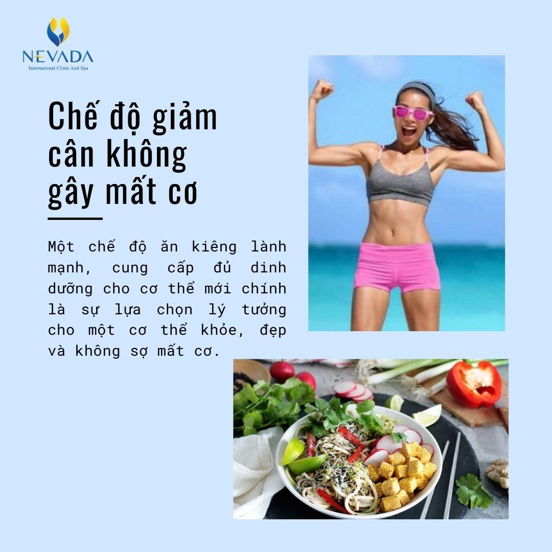 giảm cân mất cơ, giảm cân có bị mất cơ không, giảm cân có mất cơ không