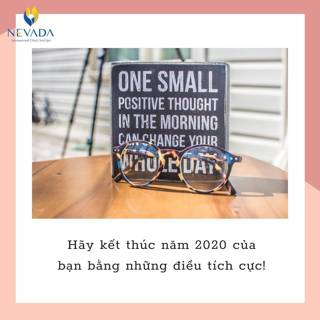 Hãy kết thúc năm 2020 của bạn bằng những điều tích cực