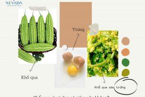 Khổ qua xào trứng có giảm cân không? Câu trả lời bạn cần biết là…