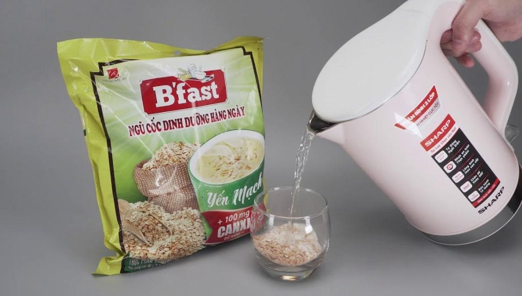 ngũ cốc dinh dưỡng b'fast có mập không, ngũ cốc b'fast có giảm cân không, ngũ cốc b'fast bao nhiêu calo, ngũ cốc b'fast có béo không, 1 gói ngũ cốc dinh dưỡng b'fast bao nhiêu calo