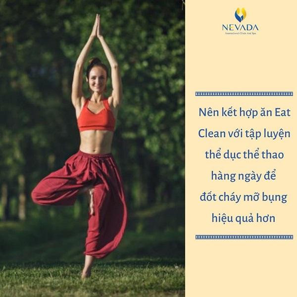thực đơn eat clean giảm mỡ bụng, chế độ ăn eat clean giảm mỡ bụng, cách ăn eat clean giảm mỡ bụng