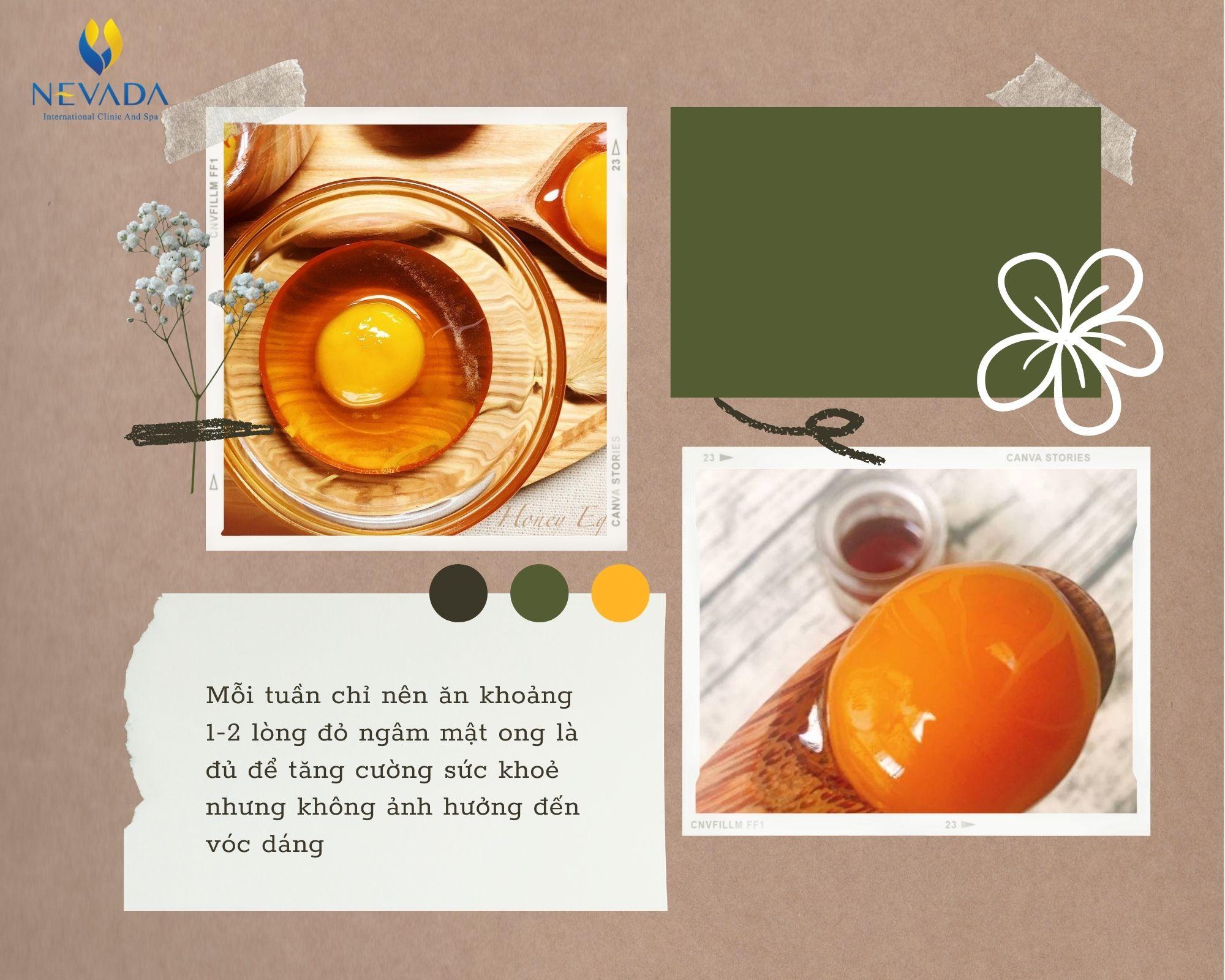 trứng mật ong giảm cân, trứng gà mật ong giảm cân, trứng gà ngâm mật ong giảm cân