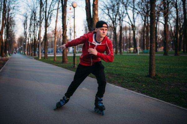 trượt patin giảm cân, trượt patin có giảm cân không, patin giảm cân