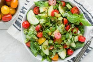Ăn salad có giảm cân không? Bật mí cách làm salad giảm cân đẹp da đơn giản