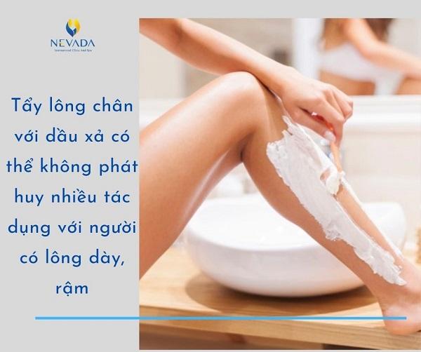 triệt lông chân bằng dầu xả, tẩy lông chân bằng dầu xả, cách triệt lông chân bằng dầu xả, cách tẩy lông chân bằng dầu xả