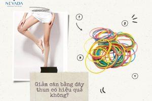 Giảm cân bằng dây thun có hiệu quả không? Những sự thật về phương pháp giảm cân từ sao Hàn biết được tiết lộ