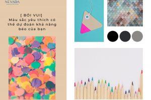 [ BÓI VUI] Màu sắc yêu thích có thể dự đoán khả năng béo của bạn