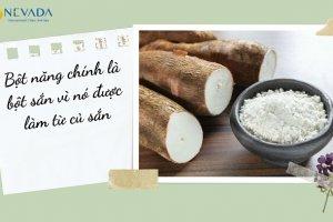 Bột năng có bao nhiêu calo? Ăn bột năng có béo không? Chuyên gia dinh dưỡng giải đáp