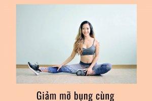Chỉ 4 phút hiệu quả bất ngờ với bài tập nhảy Tabata giảm mỡ bụng Hana Giang Anh